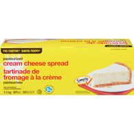 Pasteurized Cream Cheese, Club Pack