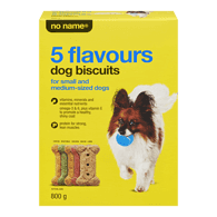 5 Flavours Dog Biscuits