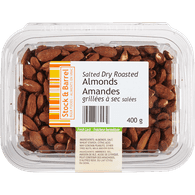Dry Roasted Almonds, Salted