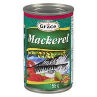 Mackerel in Tomato Sauce with Hot Chili
