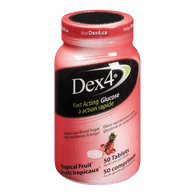 Dex4 Glucose Tablets, Tropical Blast