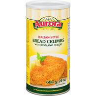 Italian Style Bread Crumbs with Italian Romano Cheese