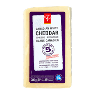 Canadian White Cheddar, Aged 5 Years