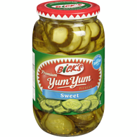 Yum Yum, Pickles