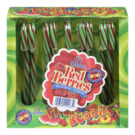 Red Berries Candy Canes