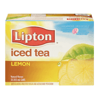 Iced Tea, Lemon