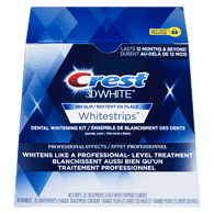 3D White Whitestrips, Professional Effects