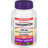 Coenzyme Q10, Extra Strength