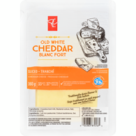 Old White Cheddar, Sliced