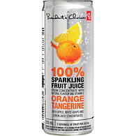 Orange Tangerine 100% Sparkling Fruit Juice From Concentrate
