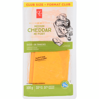 Cheese, Medium Cheddar Slices Club Pack