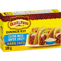 Hard Taco Dinner Kit, Extra Mild