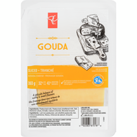 Gouda, Sliced