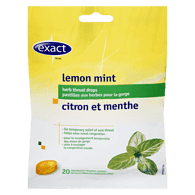 Herbal Cough Drops, Lemon Mint