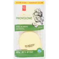 Provolone, Sliced Club Pack