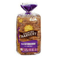 Cinnamon Raisin With Whole Wheat