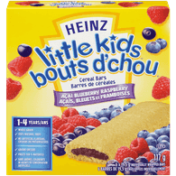 Little Kids Cereal Bars, Acai Blueberry Raspberry