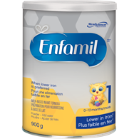 Infant Formula Lower Iron Powder Can