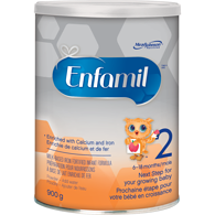 2 Infant Formula Powder Can