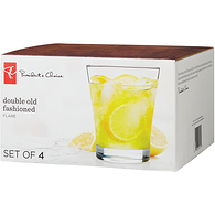 Flare Double Old Fashioned Glass 4-Pack
