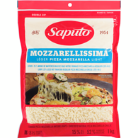 Shredded Cheese, Mozzarellissima Light