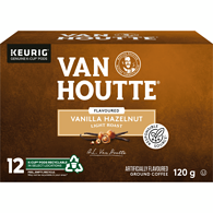 Van Houtte Vanilla Hazelnut Coffee Light Roast