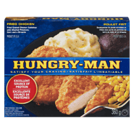 Hungry Man Fried Chicken