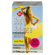 Body Balance Dieter Tea, Lemon Flavour