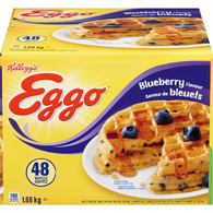 Waffles, Blueberry Club Pack