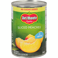 Peach Slices, Water Packed No Sugar Added