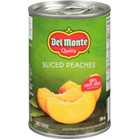 Peach Slices in Juice