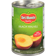 Peach Halves in Juice Fruit Juice