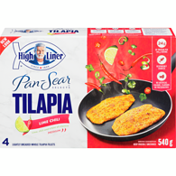 Pan Sear Selects Tilapia, Lime Chili
