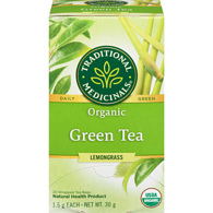 Organic Golden Green Tea with Lemongrass