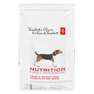 Nutrition First Adult Dog Food, Lamb & Brown Rice