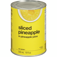 Pineapple, Sliced, in Juice