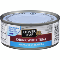 White Chunk Tuna,  Albacore In Water