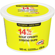 Sour Cream, Regular 14%