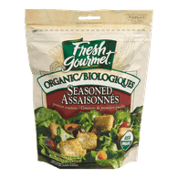 Organic Croutons, Seasoned