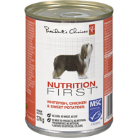 Nutrition First Premium Dog Food Whitefish, Chicken & Sweet Potatoes