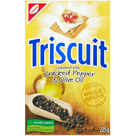 Triscuit, Cracked Pepper & Olive Oil