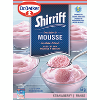 Mousse Mix, Strawberry