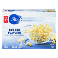 Blue Menu Popcorn, Microwave Butter