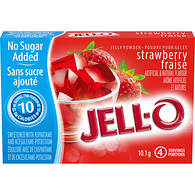 Jelly Powder, Strawberry No Sugar Added