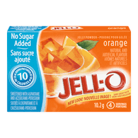 Jelly Powder, Orange No Sugar Added