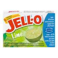 Jelly Powder, Lime No Sugar Added