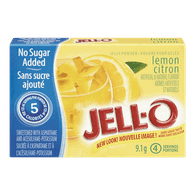 Jelly Powder, Lemon No Sugar Added