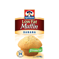 Baking Mix, Low Fat Banana Muffin