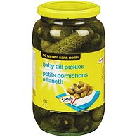 Baby Dills, No Garlic