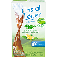 Crystal Light Singles Tea Blends, Original Iced Tea